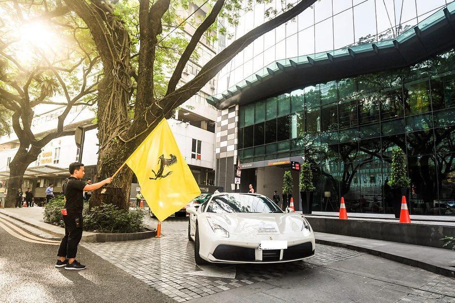 Ferrari đã kỷ niệm 10 năm thành lập tại 3 nước Đông Nam Á là Thái Lan, Malaysia và Singapore bằng màn giới thiệu siêu xe Ferrari F8 Tributo
