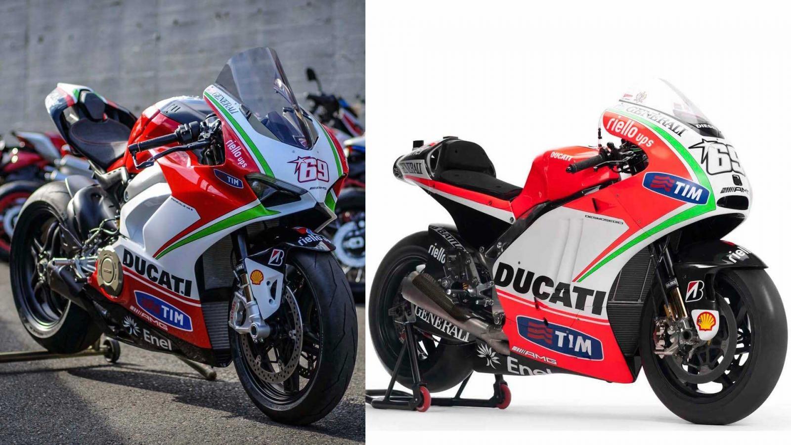 Phiên bản đặc biệt Ducati Panigale V4 dựa trên chiếc Desmosedici GP12