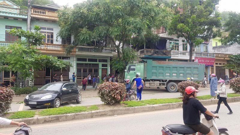 Hiện trường vụ tai nạn liên hoàn tại thành phố Lào Cai