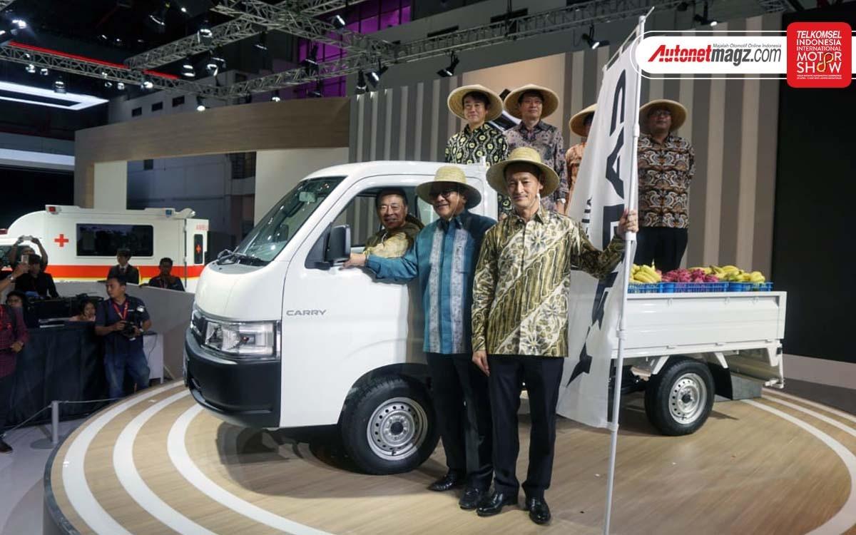 Suzuki Carry 2019 ra mắt trong triển lãm IIMS 2019 tại Indonesia