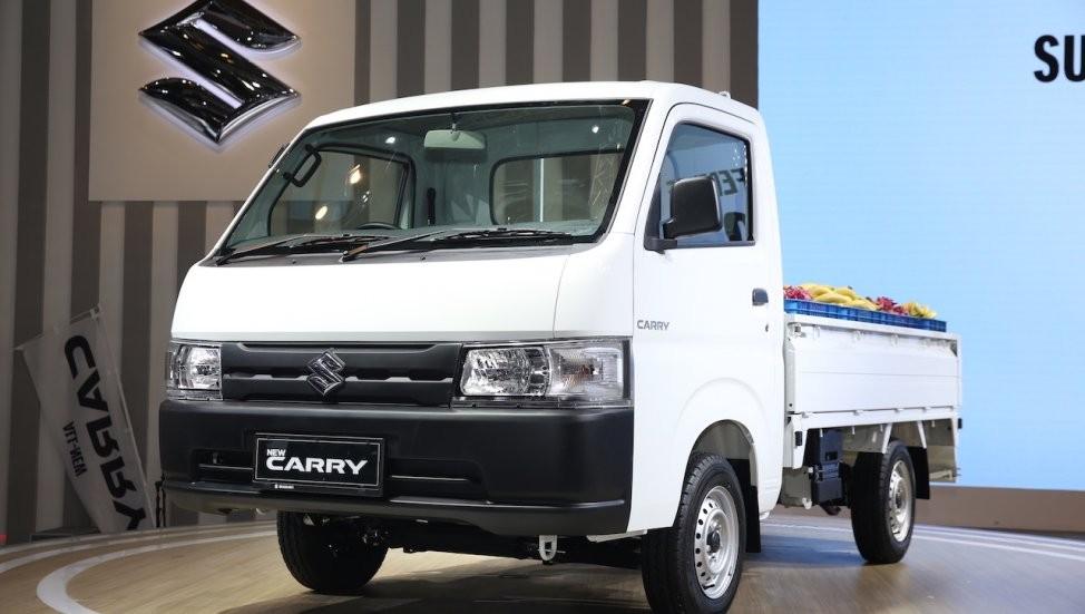Suzuki Carry 2019 sở hữu đầu xe mới