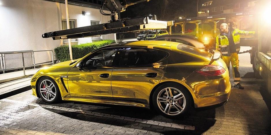 Người lái chiếc Porsche Panamera bị cảnh sát sờ gáy lần thứ hai