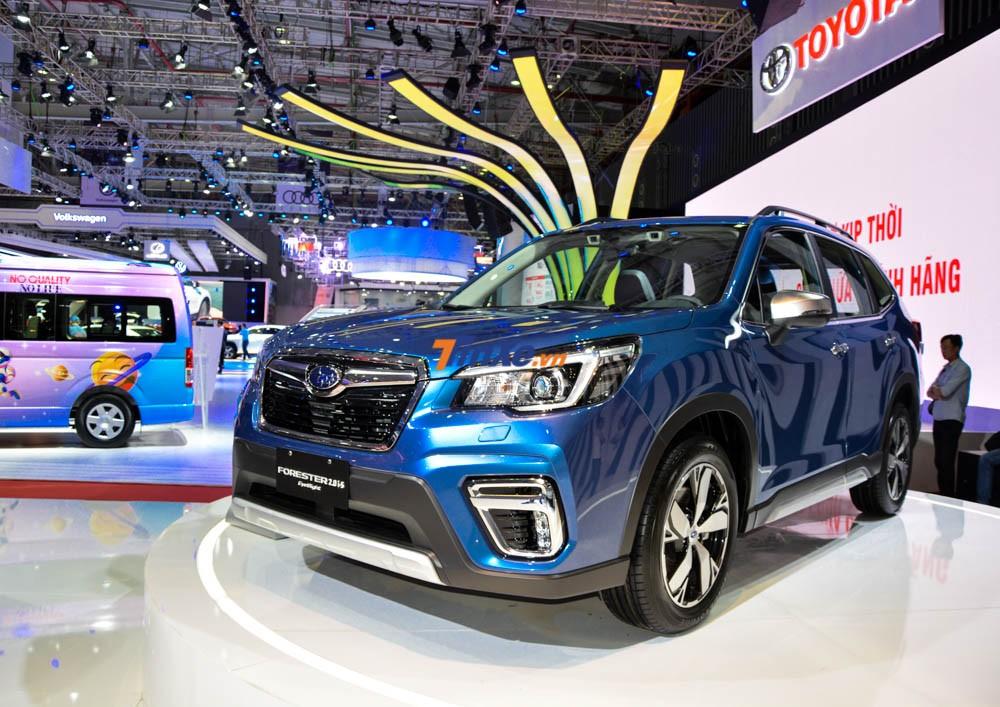 Subaru Forester 2019 nhập Thái có thể sẽ về Việt Nam trong tháng 5 tới