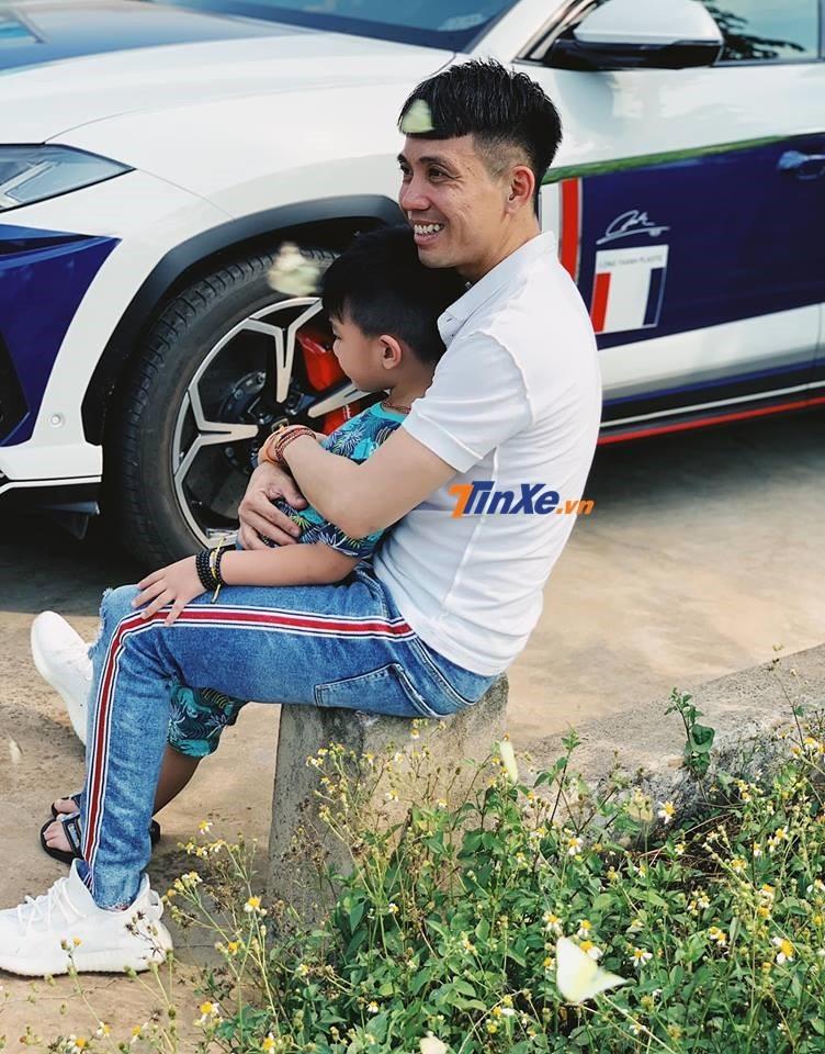 Minh Nhựa cùng con trai và siêu SUV Lamborghini Urus trong chuyến nghỉ lễ 30/4 và 1/5/2019 về Buôn Ma Thuột