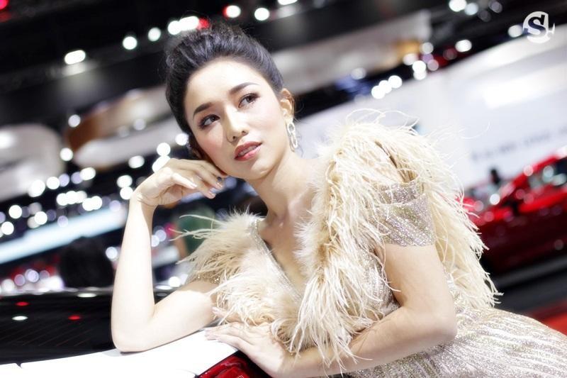Các người mẫu xinh thế này là đặc trưng của triển lãm xe Thái Lan - 20