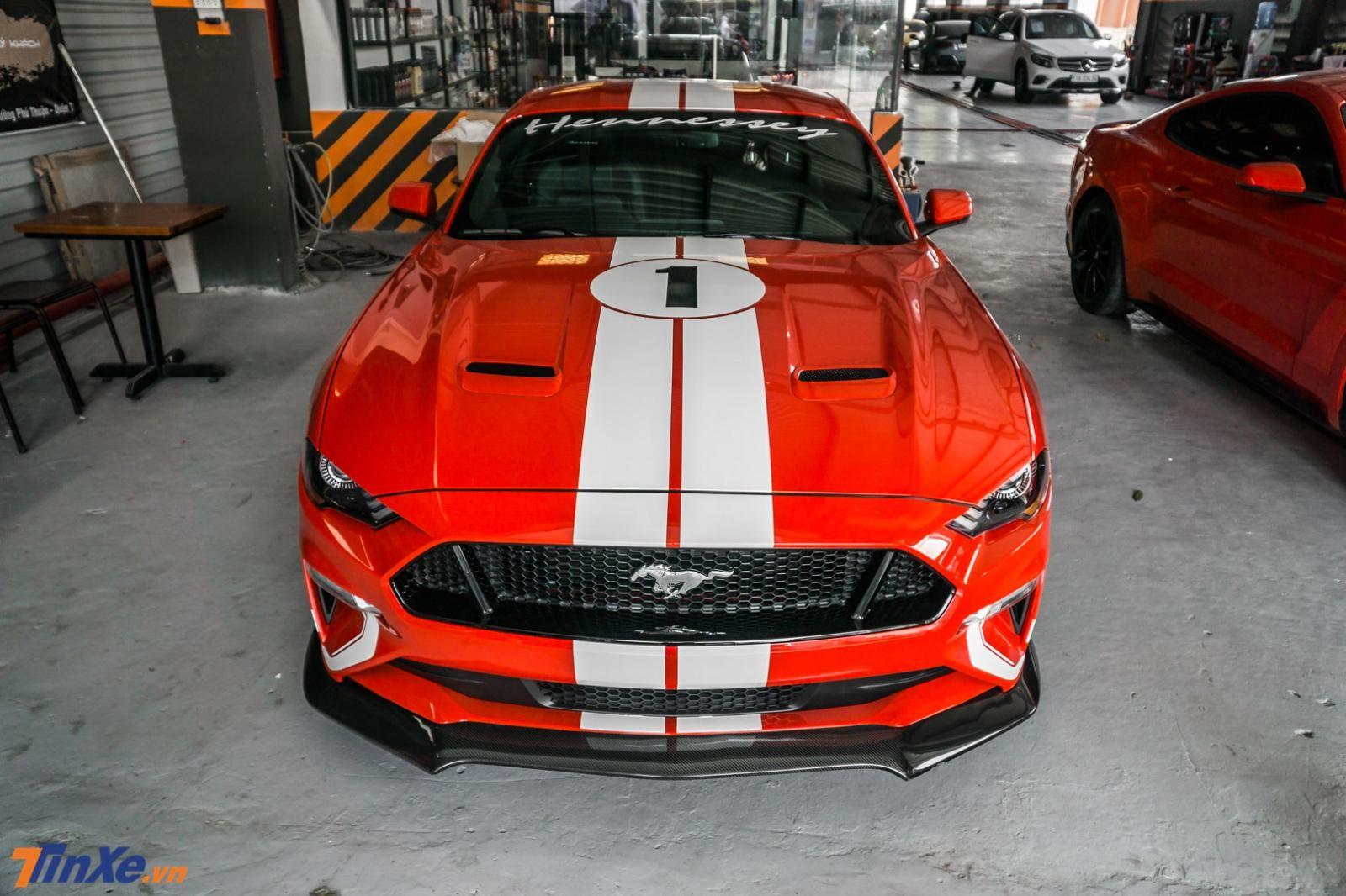 Cận cảnh vẻ đẹp của Hennessey Heritage Edition Mustang 2019 độc nhất Việt Nam