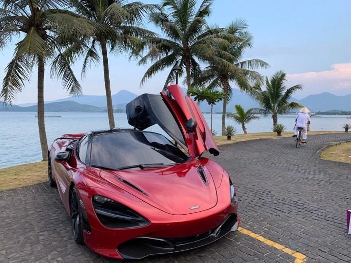 Siêu xe McLaren 720S tại Đà Nẵng