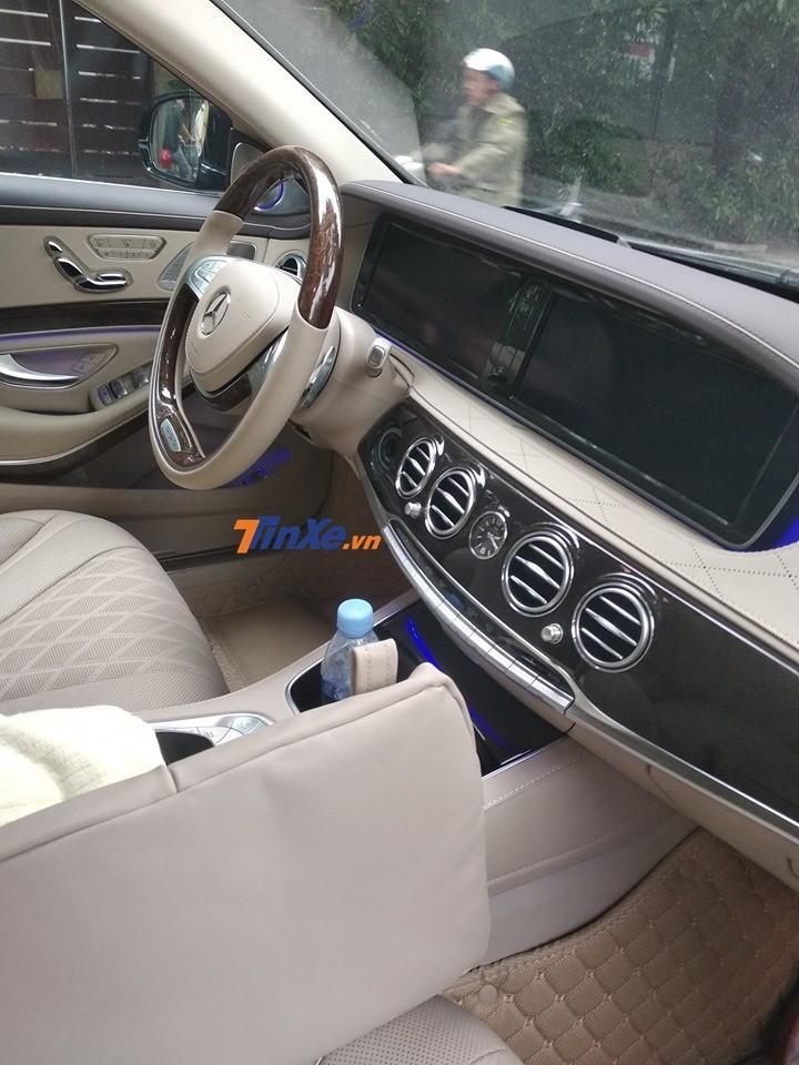 Xe siêu sang Mercedes-Maybach S600 Pullman không có nâng cấp động cơ