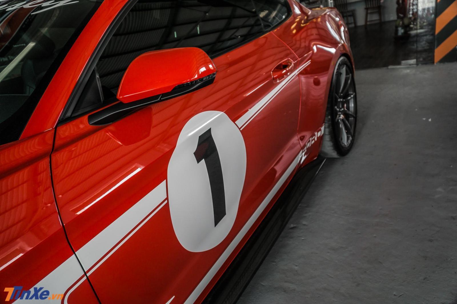 Hennessey Heritage Edition Mustang có giá tại nước ngoài đã hơn 2 tỷ đồng