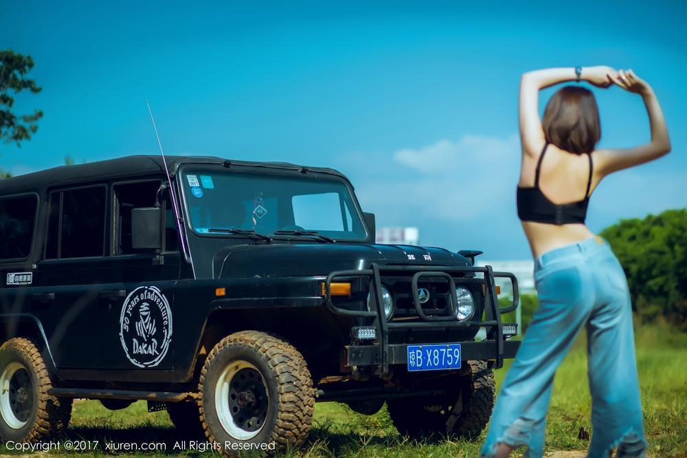 """Mỹ nhân khoe thân thể khỏe khoắn, vòng 1 căng đầy cùng xe """"Jeep Trung Quốc"""" - 12"""