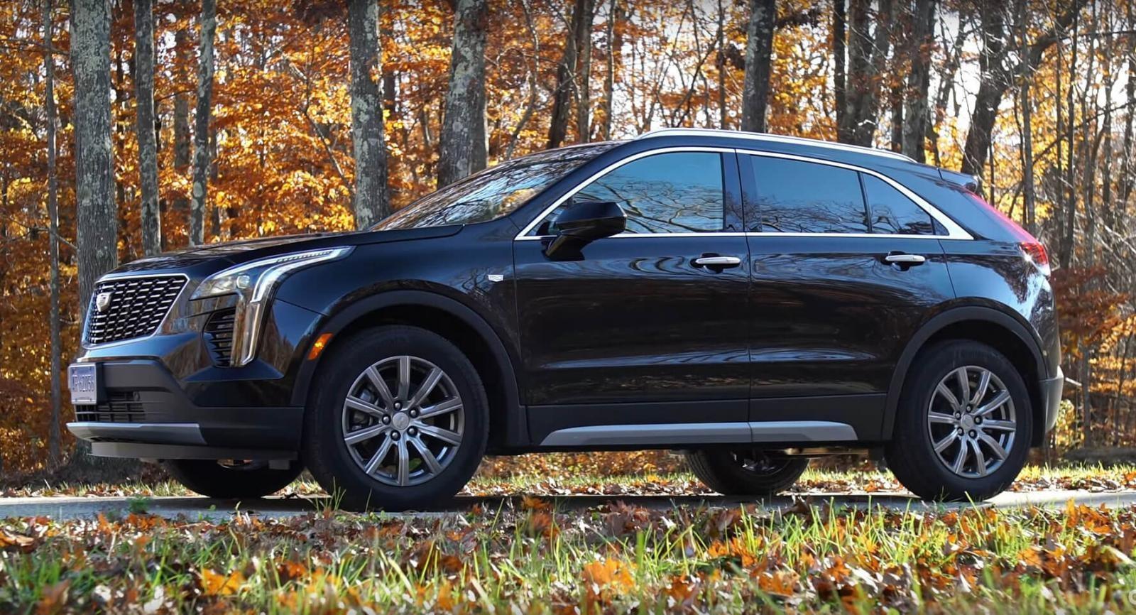 Cadillac XT4 2019 có một vẻ ngoài đẹp mắt và mạnh mẽ