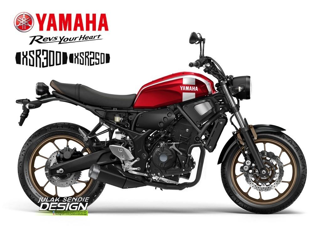 Một thiết kế được fan vẽ ra cách đây ít lâu về mẫu XSR300
