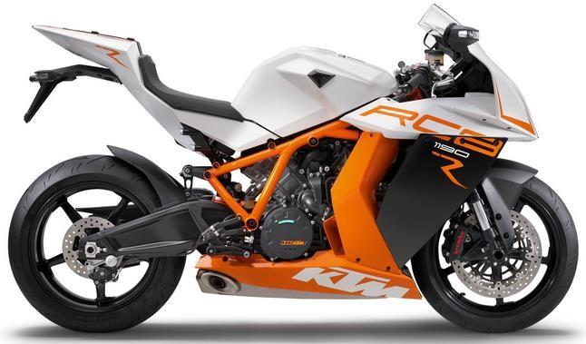 KTM RC8 1190 - một trong những Sport bike thương mại mạnh nhất