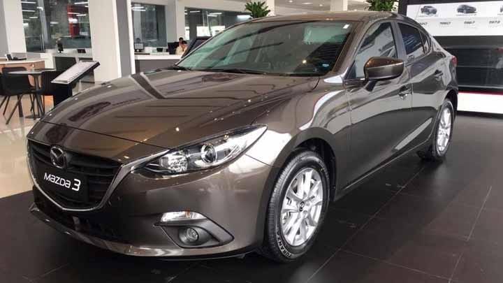 Mazda3 màu nâu