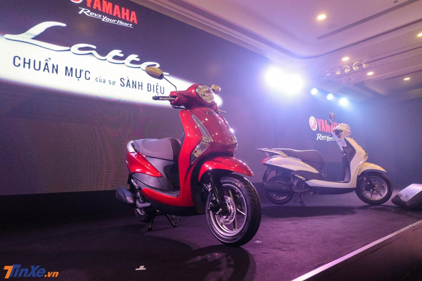 Yamaha Latte được bán chính hãng từ tháng 6 với mức giá 37,9 triệu đồng