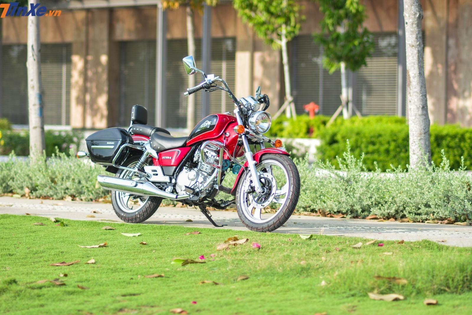 Suzuki GZ150-A 2019 có giá bán 63,99 triệu đồng