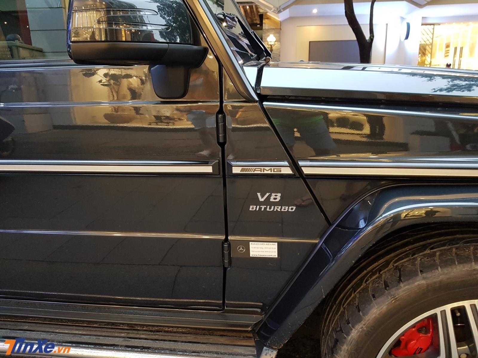 Mercedes-Benz G63 AMG biển số tứ quý 7 sử dụng động cơ V8