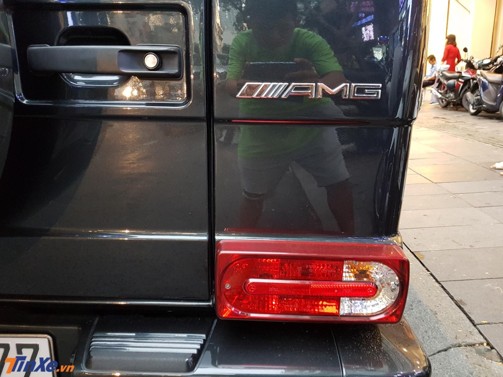 Đèn hậu trên Mercedes-Benz G63 AMG phiên bản đời cũ