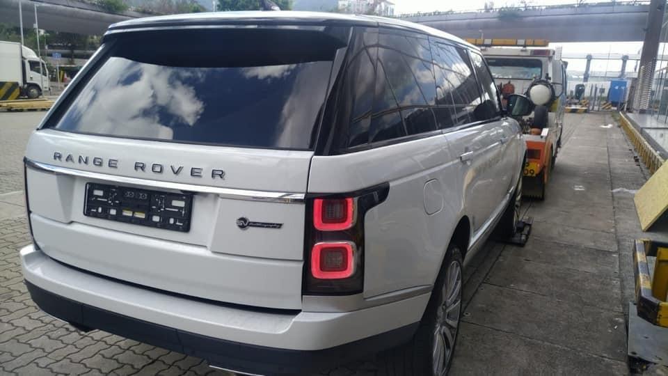 Chiếc Range Rover SVAutobiography 2019 được chào bán hơn 18 tỷ đồng