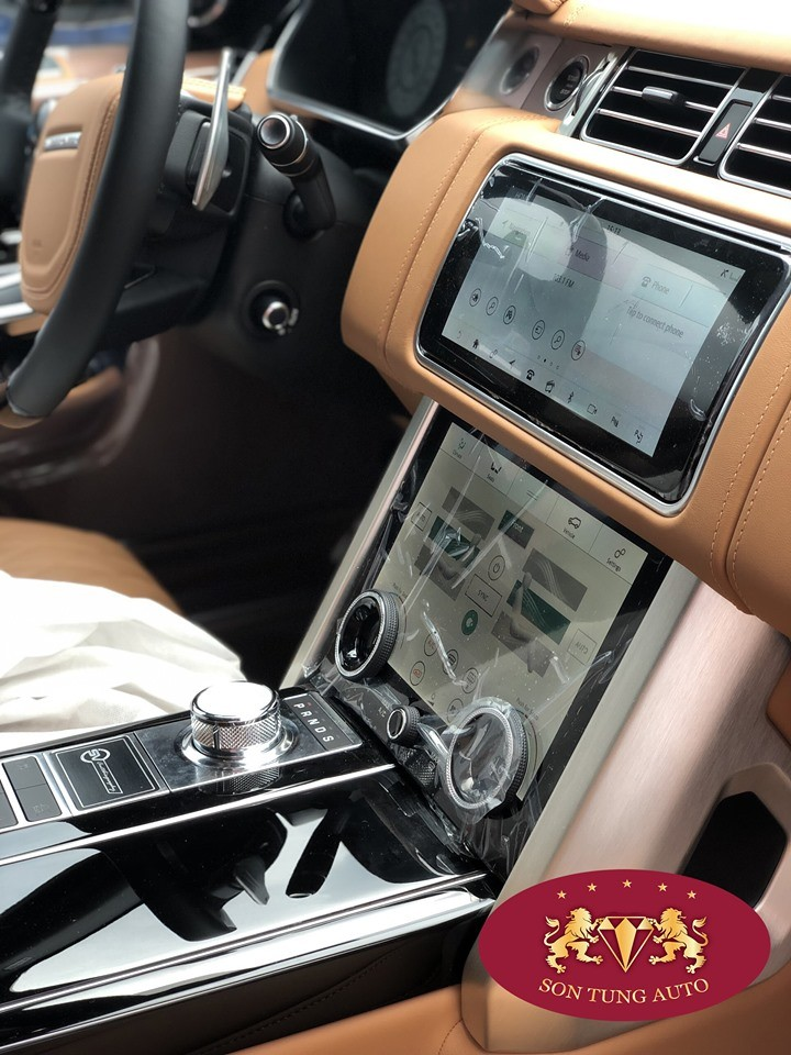 Hệ thống giải trí InControl Touch Pro Duo của Range Rover SVAutobiography 2019