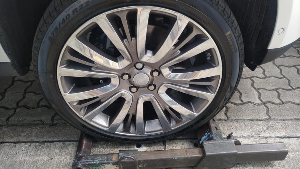 Mâm đa chấu 22 inch của Range Rover SVAutobiography 2019