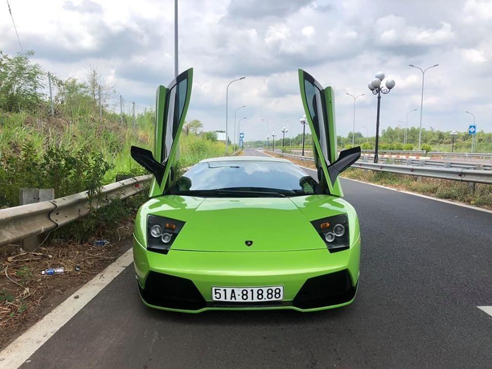 Lamborghini Murcielago LP640 màu xanh Verde Ithaca