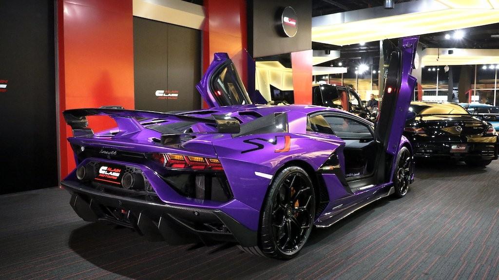 Siêu xe Lamborghini Aventador SVJ chỉ có 963 chiếc trên toàn thế giới