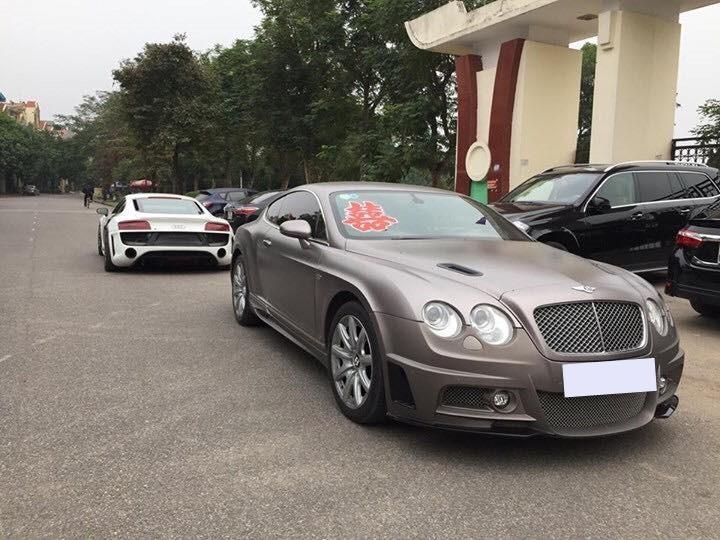 Vẻ đẹp của chiếc xe siêu sang Bentley Continental GT mang gói độ body kit hơn 300 triệu đồng trước khi gặp nạn