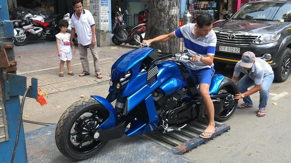 Xe được nhập về nước nhiều khả năng theo đơn đặt hàng của biker Việt
