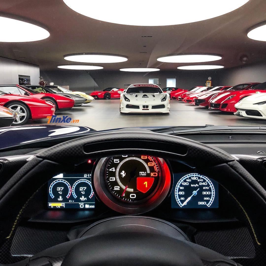 Thành viên tiếp theo vào bộ sưu tập Ferrari của Swizz được dự đoán sẽ là Ferrari SF90 Stradale