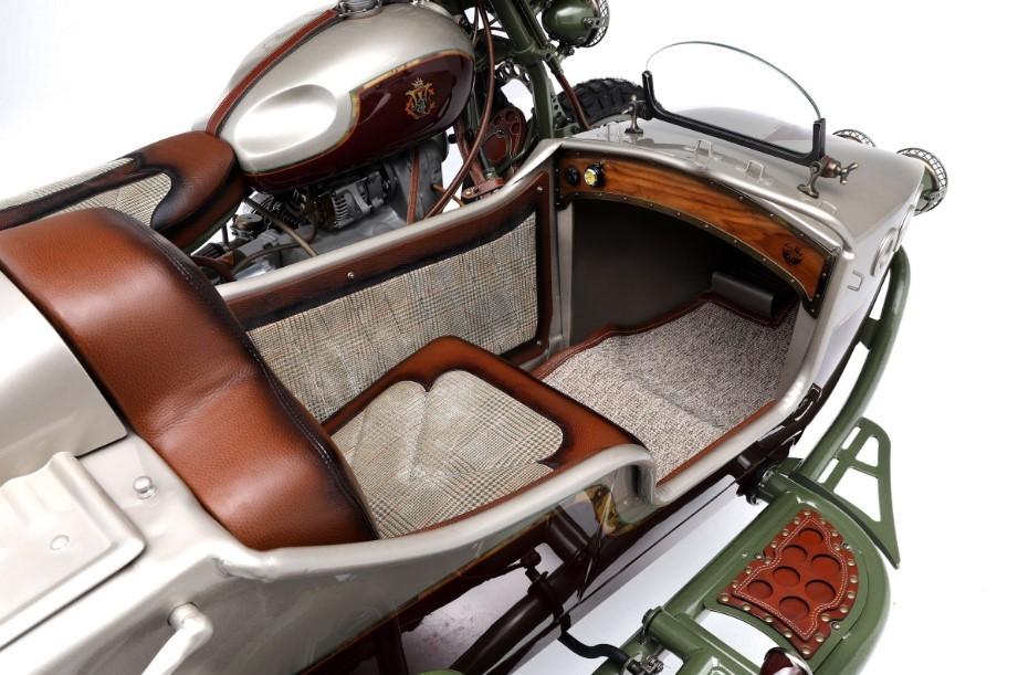 Yên xe và nội thất thuyền ton sur ton