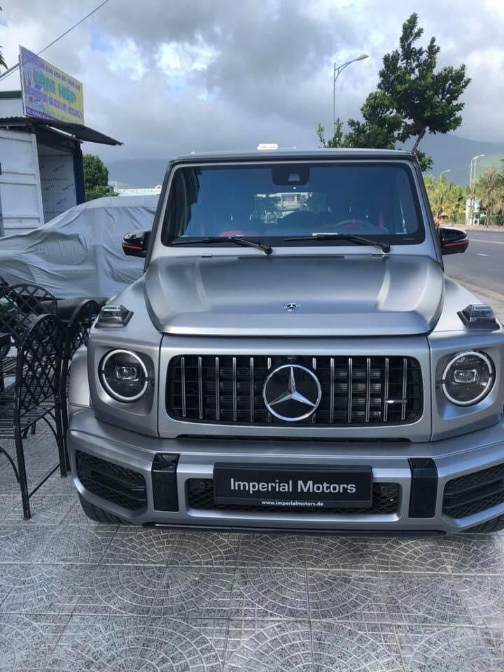 Đây là chiếc Mercedes-AMG G63 Edition 1 đầu tiên về Việt Nam