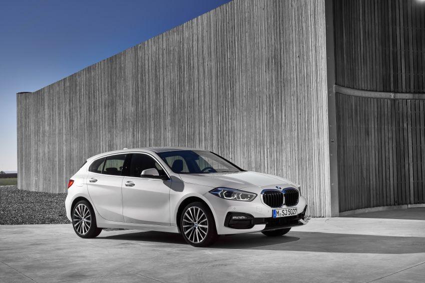 BMW 1-Series 2020 với gói Sport Line
