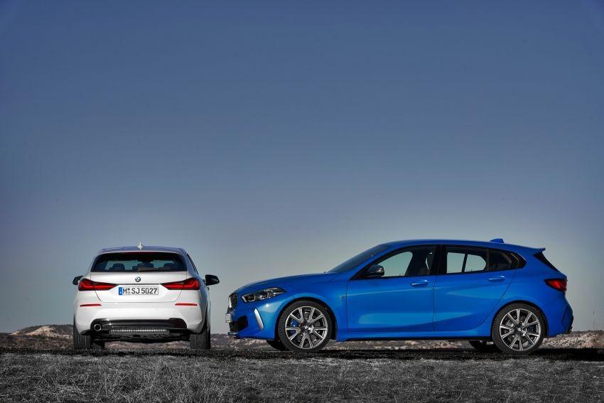 Kích thước của BMW 1-Series 2020 đã thay đổi đáng kể so với thế hệ cũ