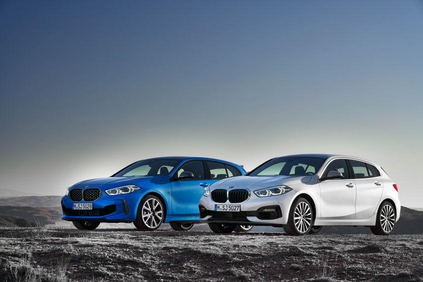 BMW M135i xDrive 2020 có mắt lưới tản nhiệt khác biệt