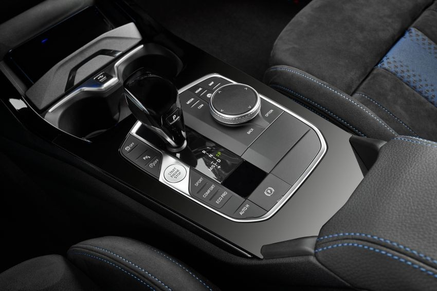Cụm điều khiển trung tâm của BMW 1-Series 2020