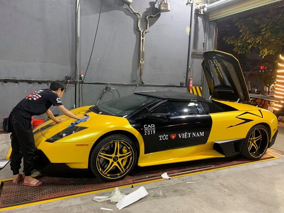 Lamborghini Murcielago LP640 mui trần độ cực hiếm tại Việt Nam đã sẵn sàng tham dự Car Passion 2019
