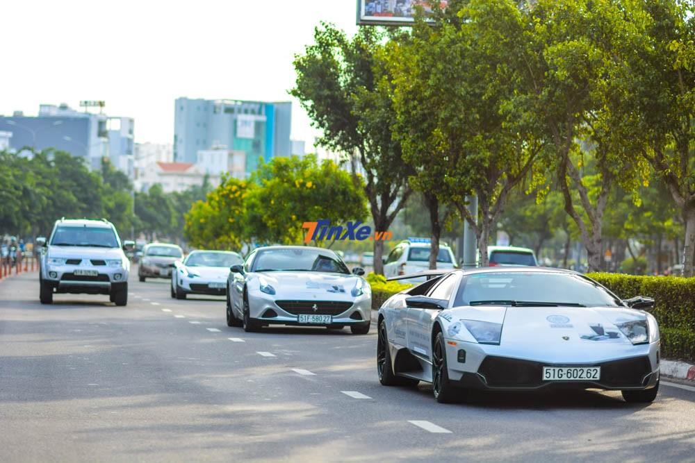 Lamborghini Murcielago LP670-4 SV trong hành trình siêu xe xuyên Việt của Trung Nguyên vào năm ngoái