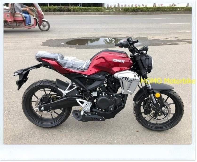 Mẫu xe nhái Honda CB150R đến từ Yinben - Trung Quốc
