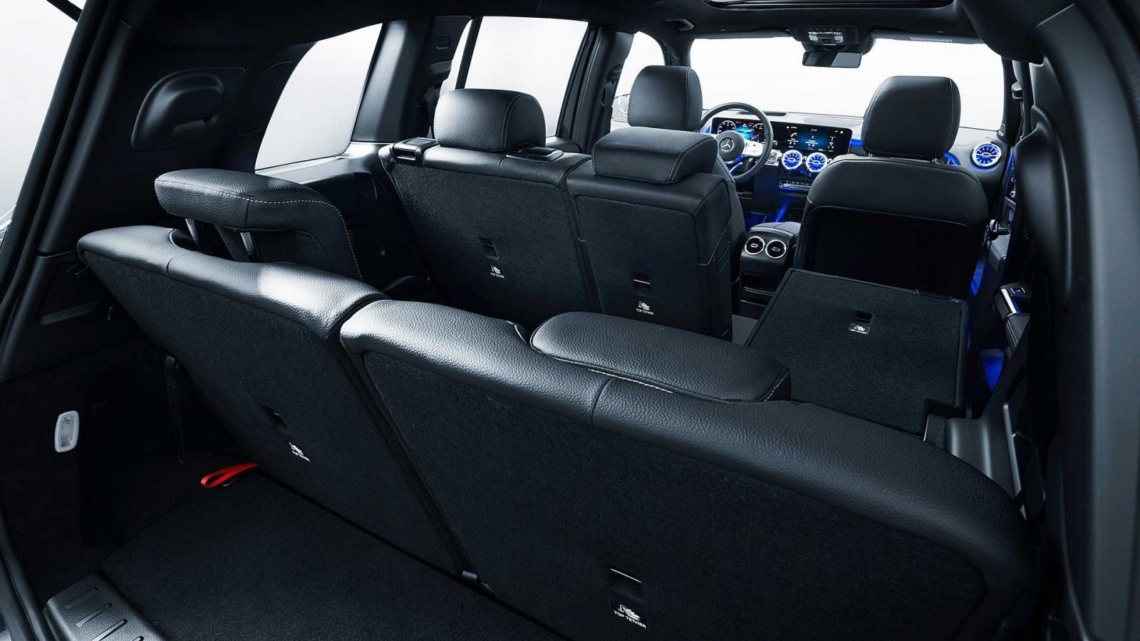 Nội thất bên trong Mercedes-Benz GLB 2020 phiên bản 7 chỗ