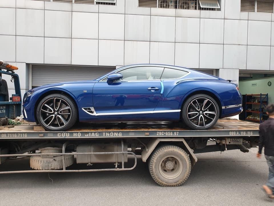 Bentley Continental GT thế hệ mới tại Việt Nam có giá bán chính hãng hơn 25 tỷ đồng
