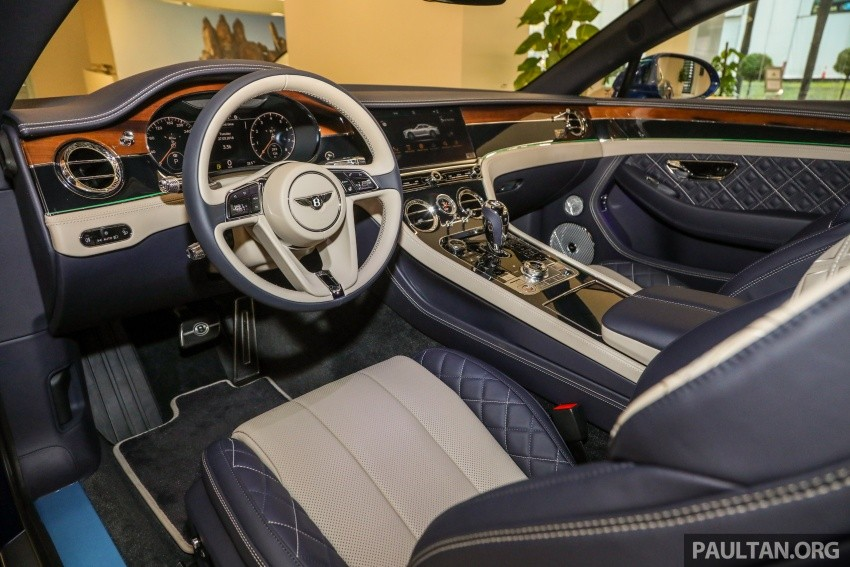 Nội thất của 1 chiếc Bentley Continental GT First Edition 2018