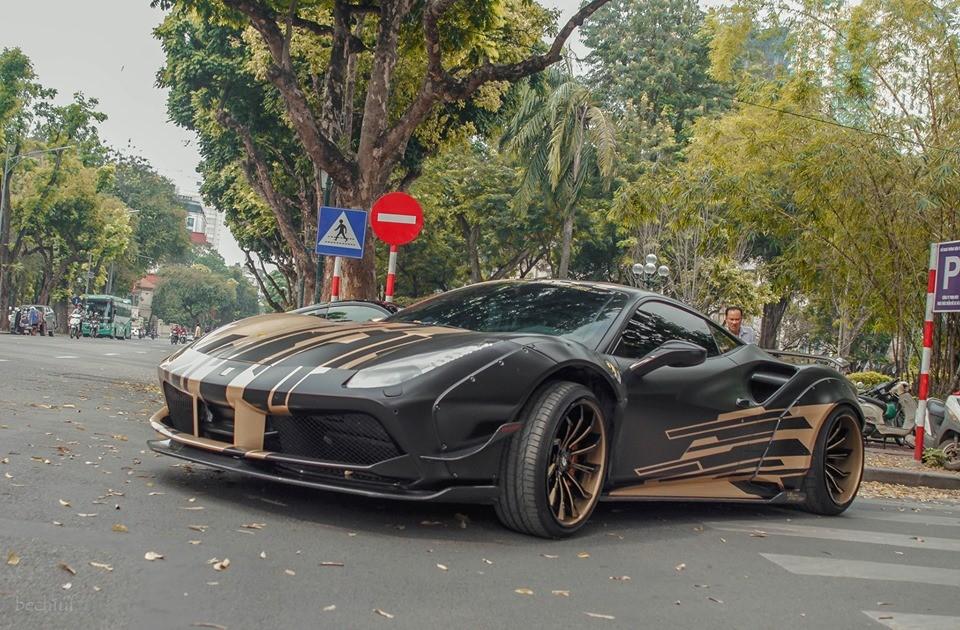 Siêu xe Ferrari 488 GTB độ Liberty Walk độc nhất Việt Nam là cái tên mới nhất tham dự Car Passion 2019
