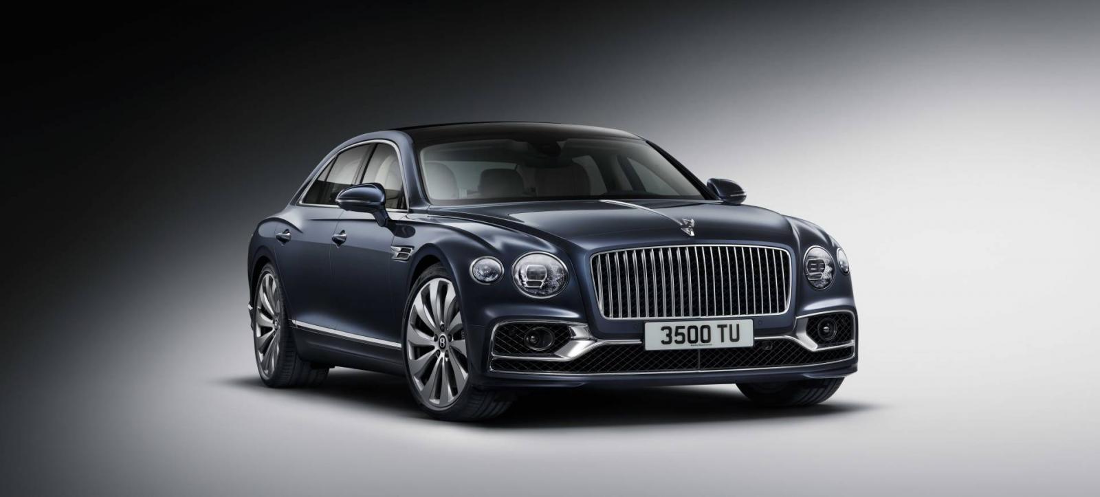 Cận cảnh thiết kế đầu xe của Bentley Flying Spur 2020