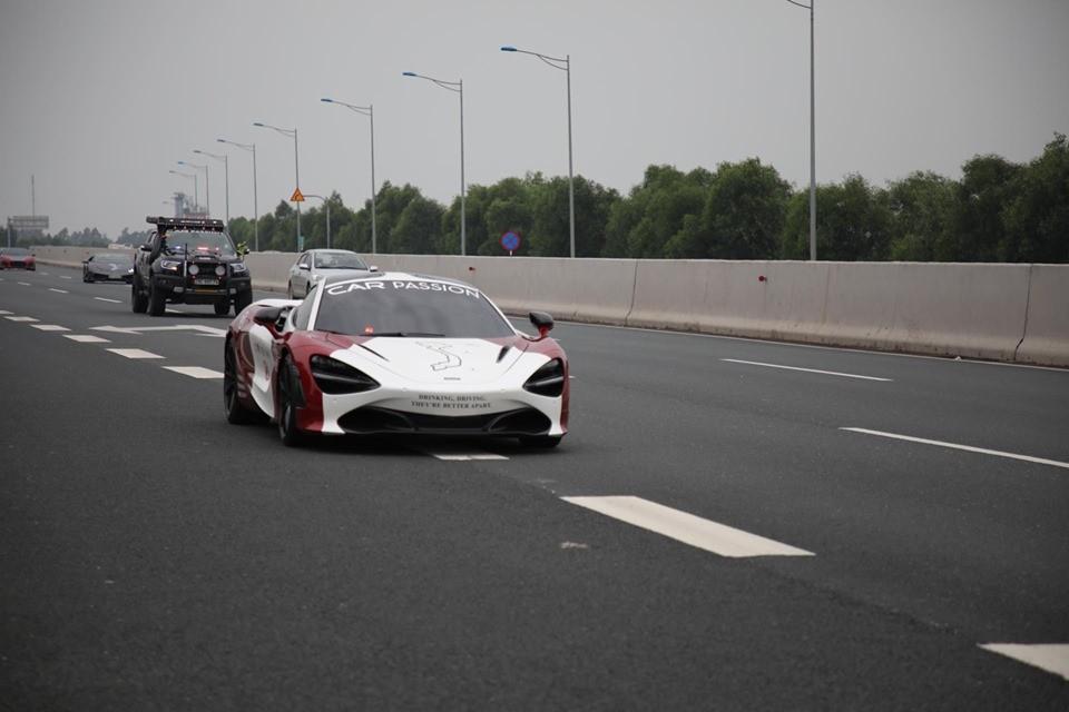 Siêu xe McLaren 720S của trưởng đoàn Car Passion 2019