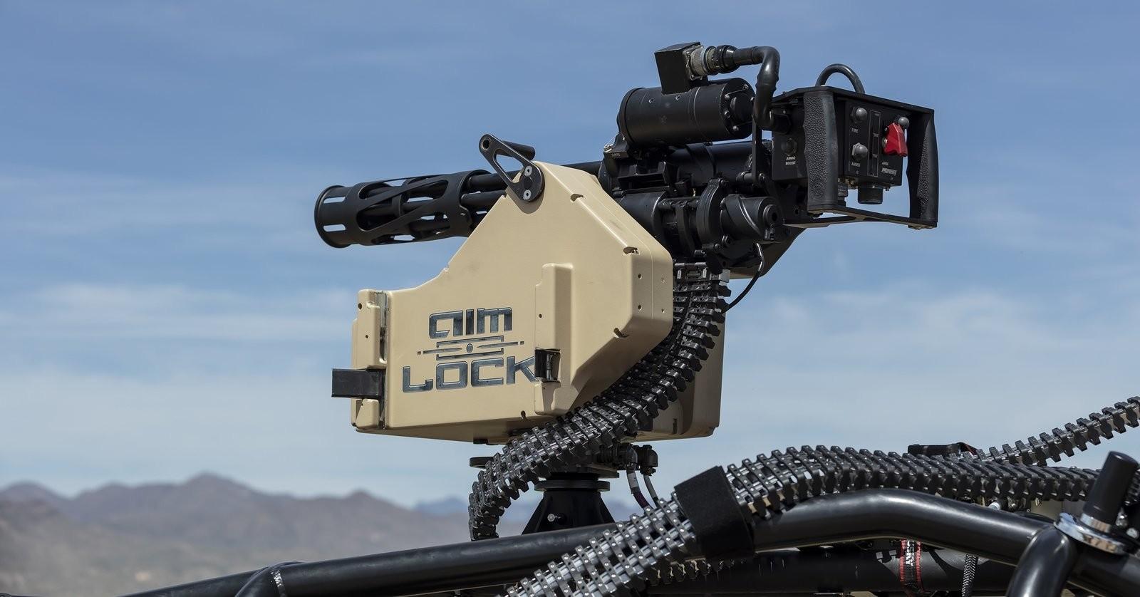 Hệ thống súng của xe có thể tự vận hành