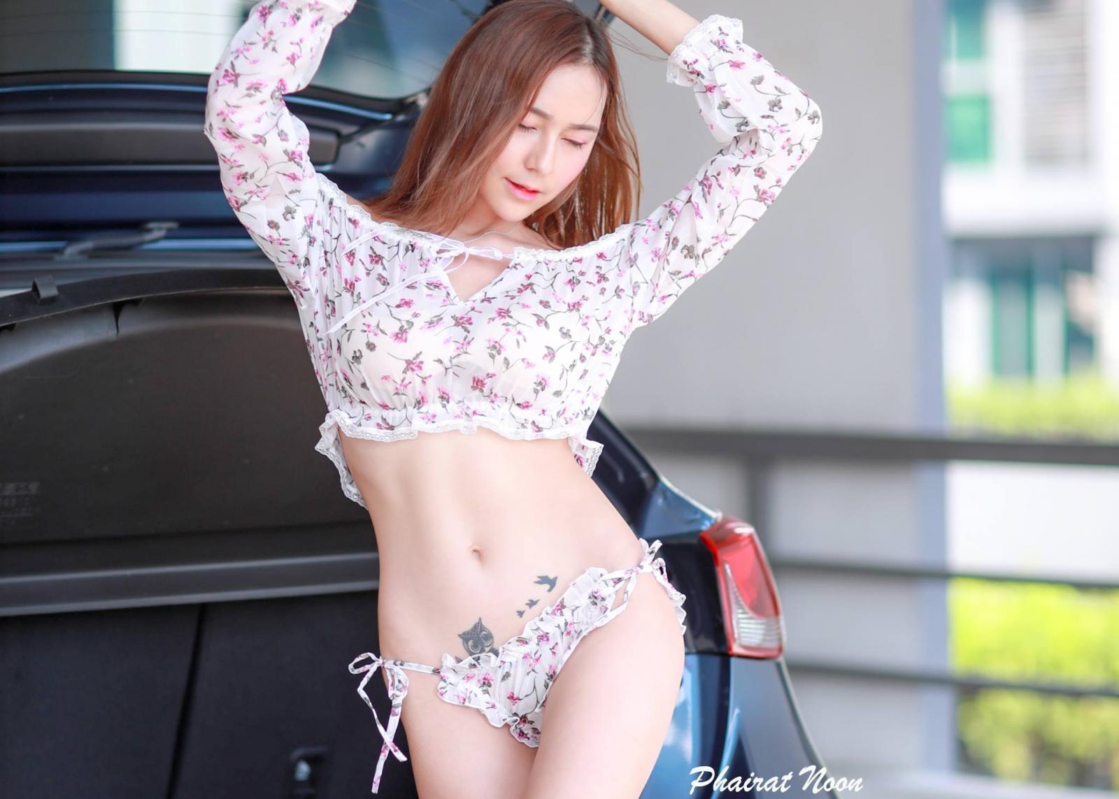 Người mẫu Thái Lan khoe vòng eo săn chắc đáng ước ao của phái yếu - 10