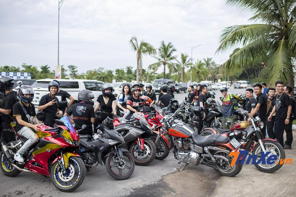 Rất nhiều biker từ khắp mọi miền Tổ quốc để về dự đại hội lần này.