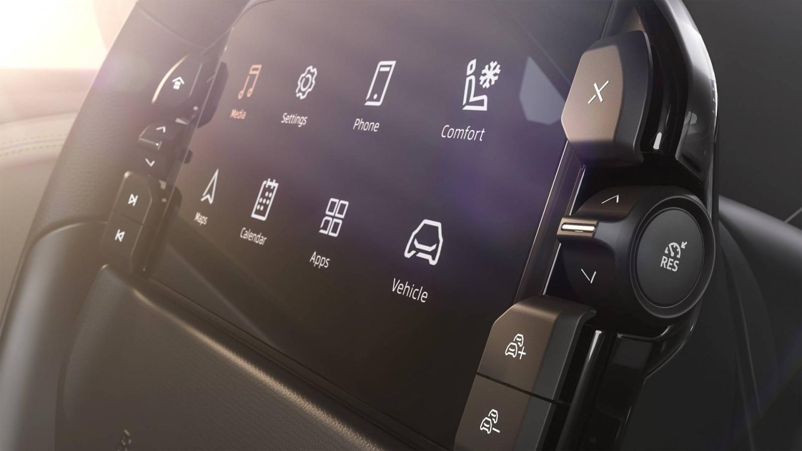 Màn hình Driver Tablet cỡ 7-inch gắn trên vô lăng xe