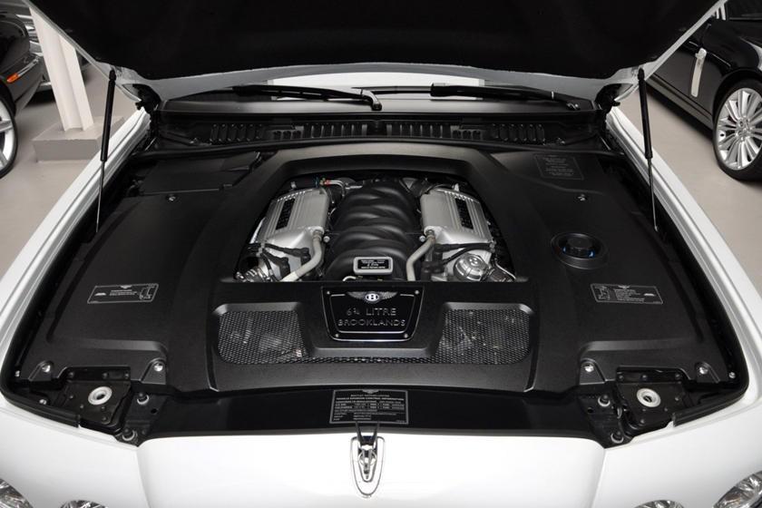 Động cơ của chiếc Bentley Brooklands